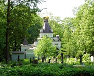 4. Capela Sf Xenia - Cimitirul Smolensk, St Petersburg