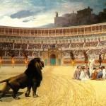 Colosseum, ultima rugaciune a mucenicilor crestini