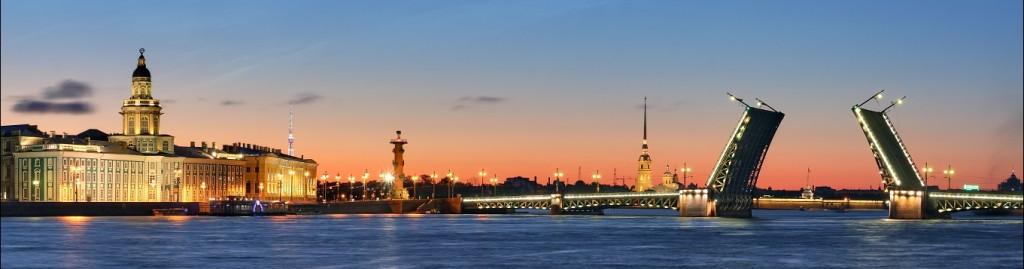 Noptile Albe, St Petersburg
