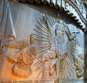 Interiorul Sfantului Mormant, basorelief