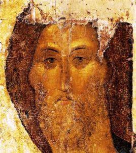 Iisus Mantuitorul, Andrei Rubliov (sec XV)