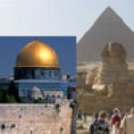 Pelerinaj 5 zile in ISRAEL si 5 zile in EGIPT